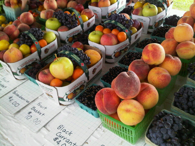 NOTL Realty | Niagara on the Lake Realty | Fresh Fruit Stall