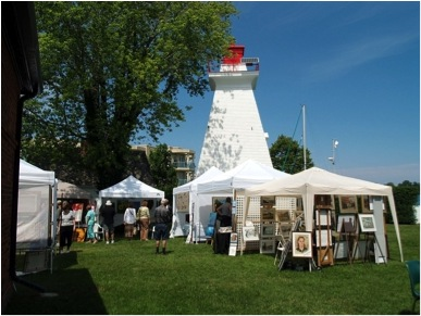 NOTL real estate | Niagara on the Lake | art by the lighthouse