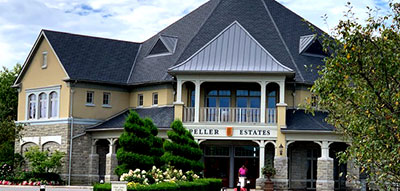 Peller Estates Winery and Restaurant in Niagara on the Lake real estate country